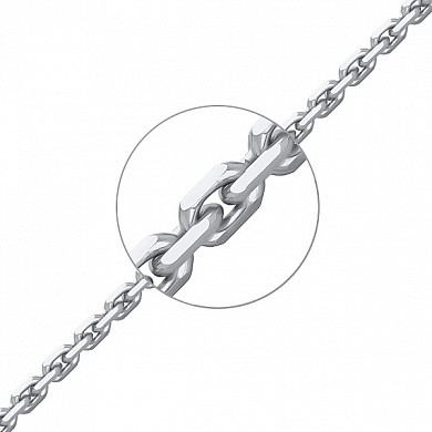 Цепь серебряная НЦ22-053-340