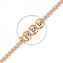 Цепь золотая НЦ 12-087, Д-0,35