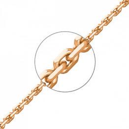 Цепь золотая НЦ 18-053-3 d 0.50