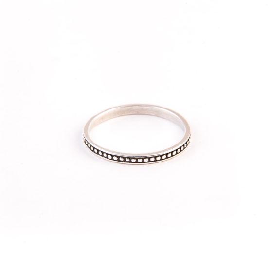 Кольцо Бусинка