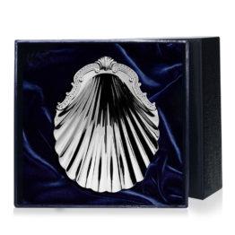 Серебряная кокильница для икры 035КК00001