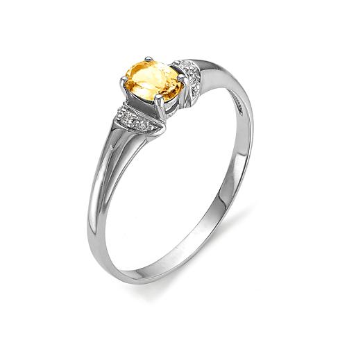 Серебряное кольцо 01-0266/00ЦТ-00
