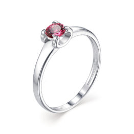 Серебряное кольцо 01-1253/0РДК-00
