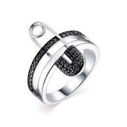 Серебряное кольцо 01-1728/0КЦ1-00