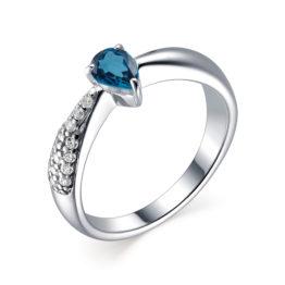 Серебряное кольцо 01-1738/0НСЛ-00