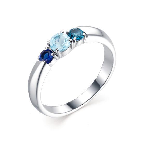 Серебряное кольцо 01-1775/0М19-00
