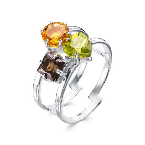 Серебряное кольцо 01-0396/00М2-00