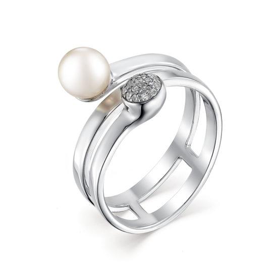 серебряное кольцо 01-0487/00ЖБ-00