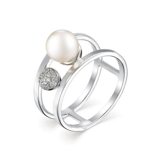 Серебряное кольцо 01-0488/00ЖБ-00