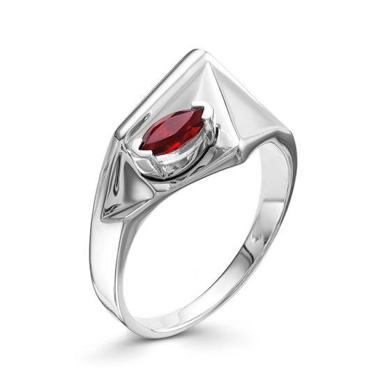 Серебряное кольцо 01-0560/00ГР-00
