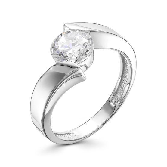 Серебряное кольцо 01-0568/00КЦ-00
