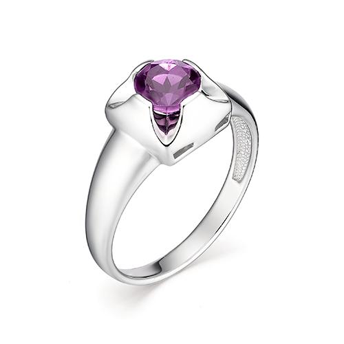 Серебряное кольцо 01-0812/00АМ-00