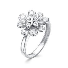 Серебряное кольцо 01-1475/00КЦ-00