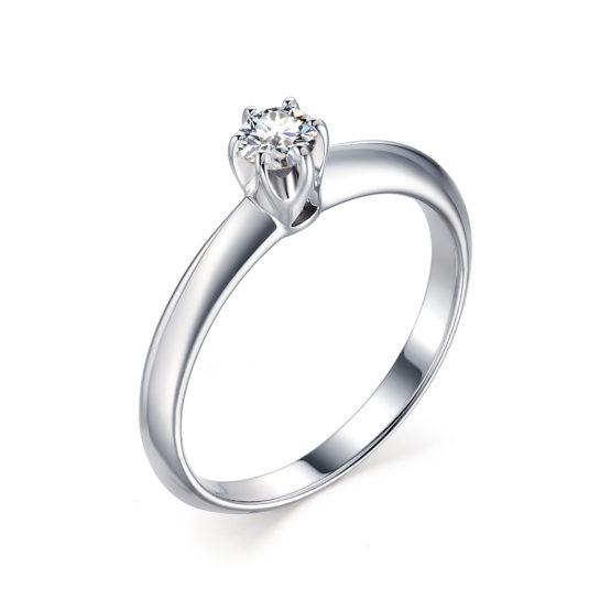 Серебряное кольцо 01-1539/00КЦ-00