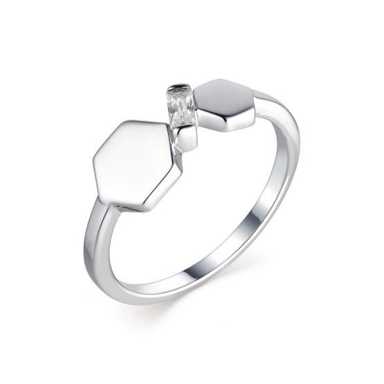 Серебряное кольцо 01-1639/00КЦ-00