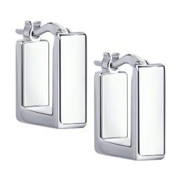 Серебряные серьги 94024185