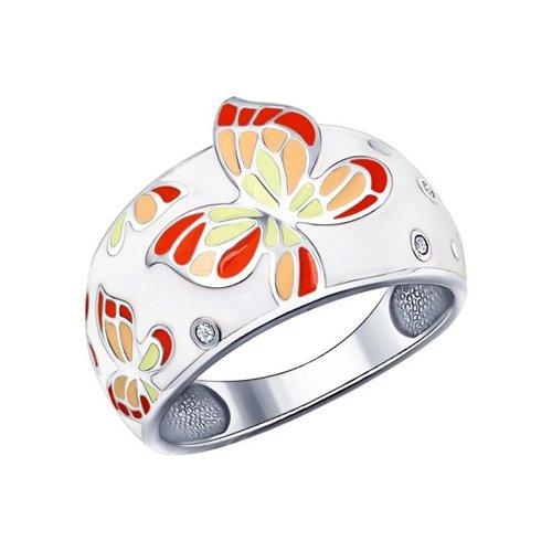 Серебряное кольцо 94011495