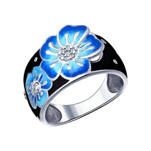 Серебряное кольцо 94011496