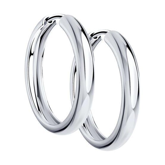 Серебряные серьги 94140010