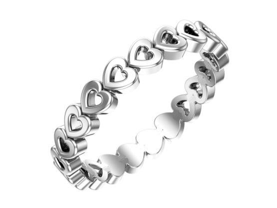 Серебряное кольцо 0101542-00245