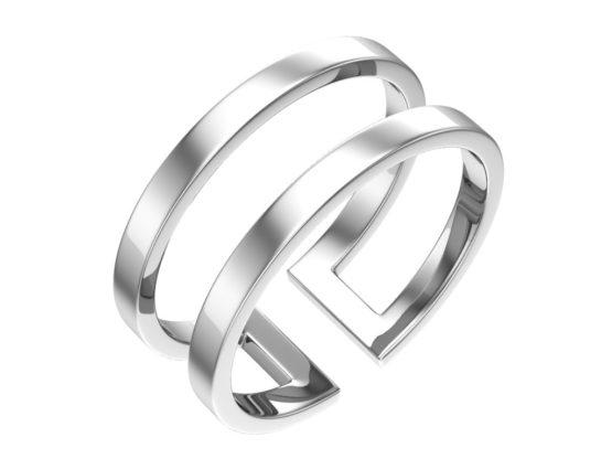 Серебряное кольцо 0101585-00245