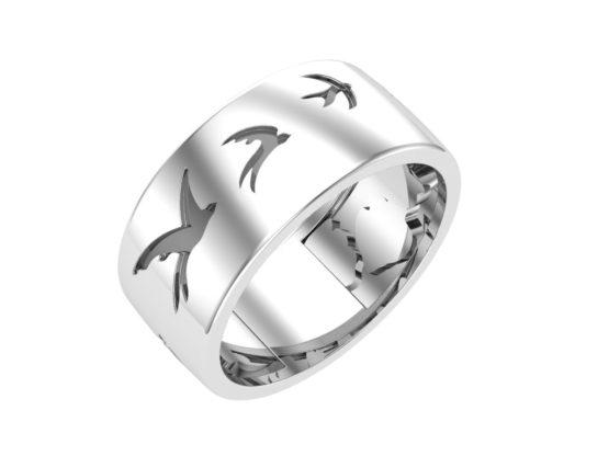 Серебряное кольцо 0101597-00245