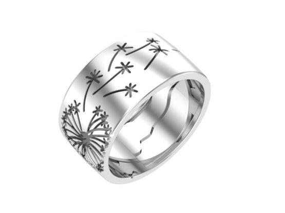Серебряное кольцо 0101598-00245