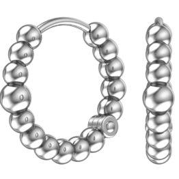 Серебряные серьги 0201373-00245