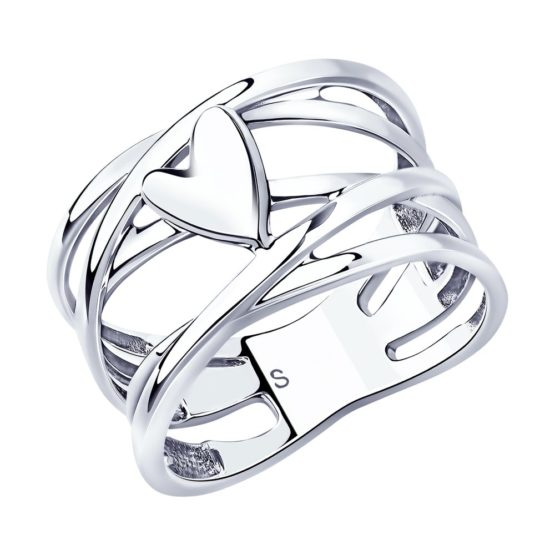 Серебряное кольцо 94013050