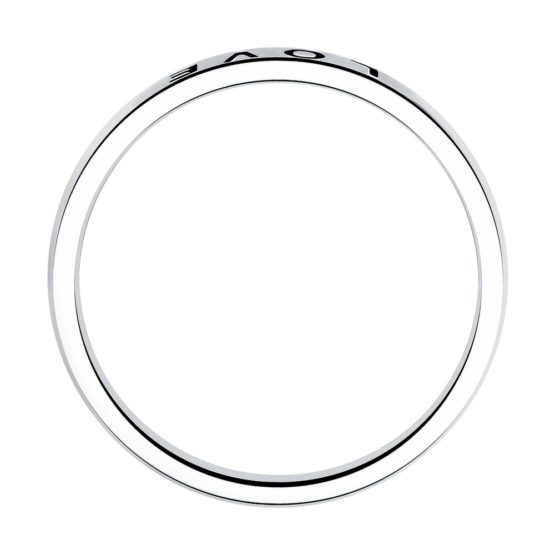Серебряное кольцо Love 95010134