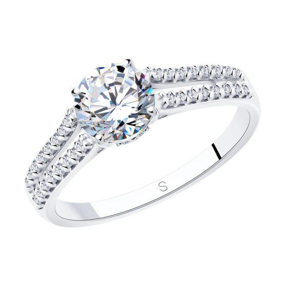 Серебряное кольцо 94012809