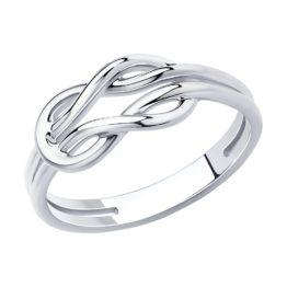 Серебряное кольцо 94013102