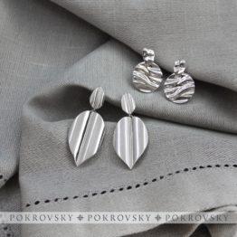 Серебряные серьги 0201404-00245