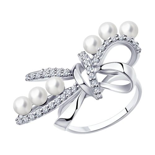 Серебряное кольцо 94013142