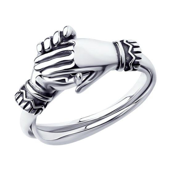 Серебряное кольцо 95010155