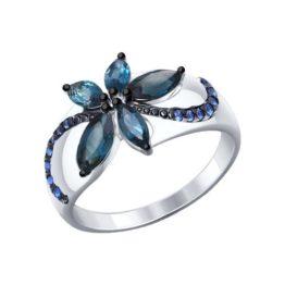 Кольцо из серебра 92011303.
