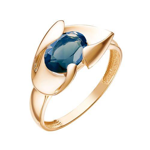 Кольцо золотое К120-5056ТЛ