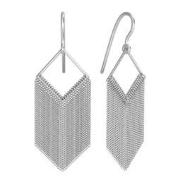 Серьги серебряные 0221267-00245