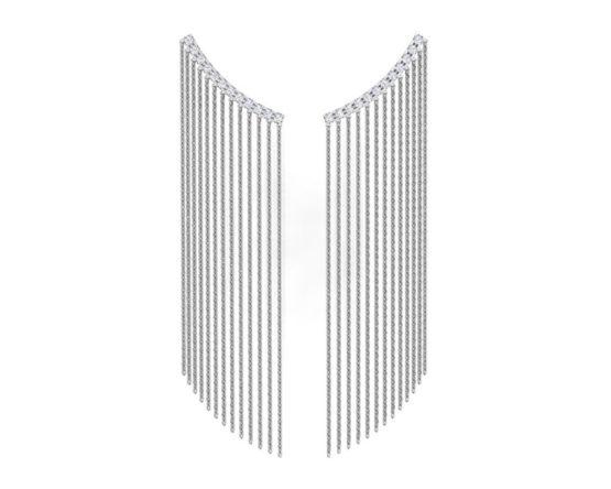 Серьги серебряные 0221318-10775
