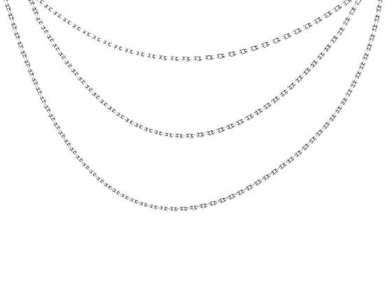 Колье серебряное 0310315-00245