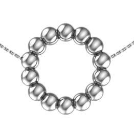 Колье серебряное 0320352-00245