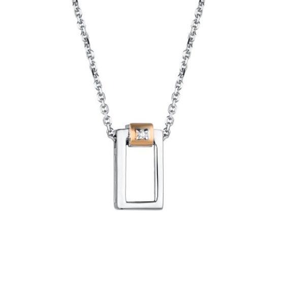 Колье серебряное 06-1797/000Б-00