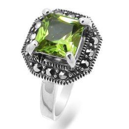Кольцо серебряное 636674