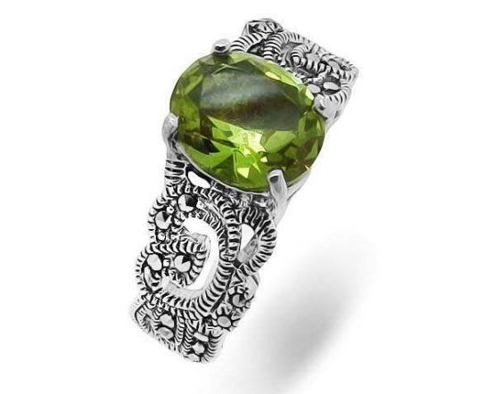 Кольцо серебряное 638832