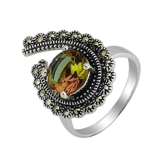 Кольцо серебряное 638837
