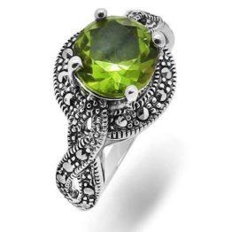 Кольцо серебряное 638844