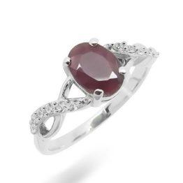Кольцо серебряное 8635