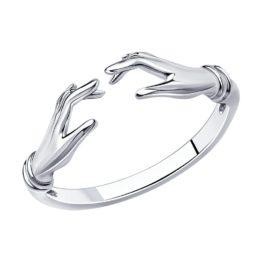 Кольцо серебряное 94013251