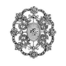 Брошь серебряная TJBR182