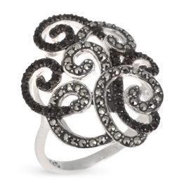 Кольцо серебряное TJR074